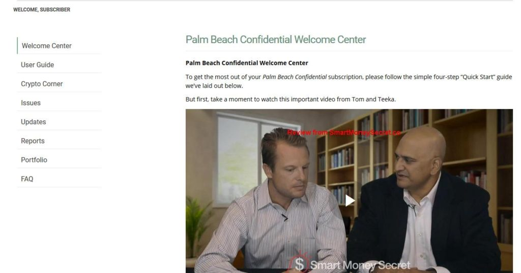 Palm Beach Confidential Newsletter Review (Teeka Tiwari)