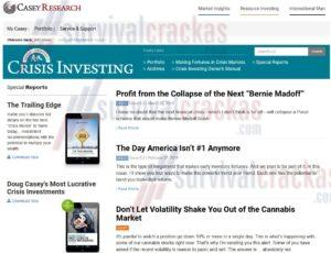 Crisis Investing Review - Doug Casey